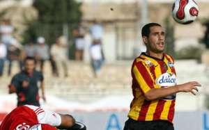 Tunisia's Esperance forward Sameh Derbali at 2008