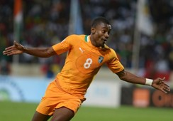 Salomon Kalou Senegal Cote d'Ivoire World Cup qualifying 11162013