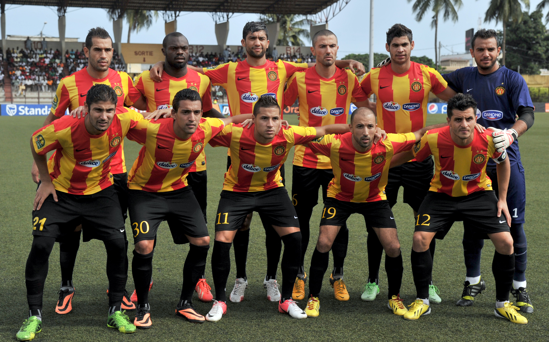 Esperance Tunis African Champions league on August 18, 2013