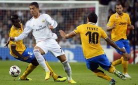 Cristiano Ronaldo Carlos Tevez Real Madrid Juventus UEFA Champions League 10232013