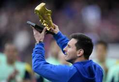 Lionel Messi - Golden Boot - Camp Nou - 11232013