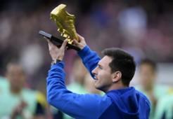 Lionel Messi - Golden Boot - Camp Nou - 11232013
