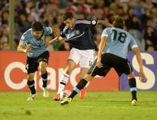 José Sosa Uruguay vs Argentina NT