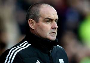 West Brom head coach Steve Clarke