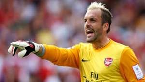 Manuel Almunia, Arsenal
