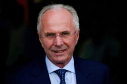 Former England manager Sven-Goran Eriksson.