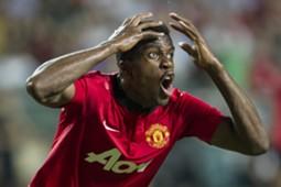 Manchester United forward Wilfried Zaha