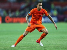 Netherlands right-back Gregory van der Wiel