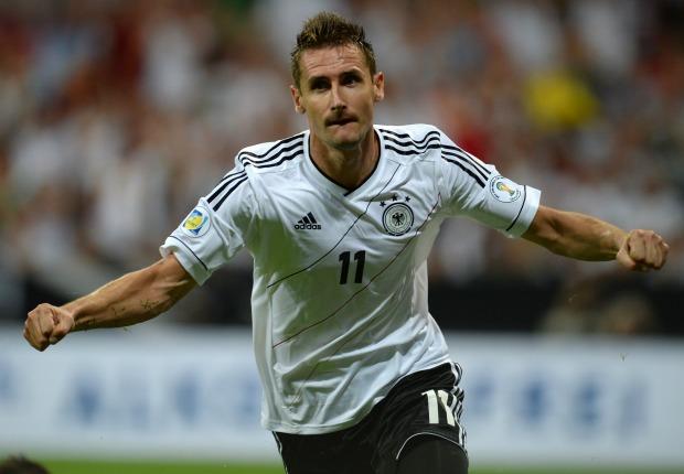 Miroslav Klose - Germany-Austria