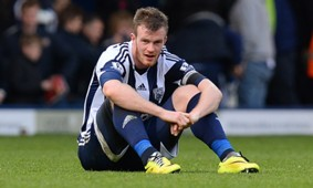 Chris Brunt West Bromwich Premier League 04122014