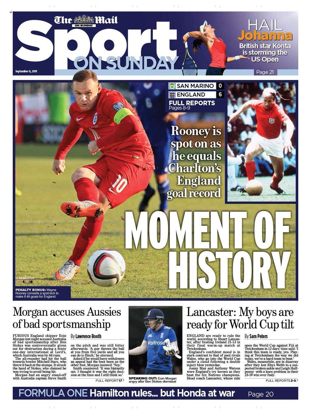 Mail Sport on Sunday
