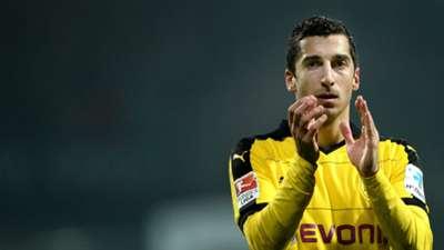 Man Utd winger hunt   Henrikh Mkhitaryan Borussia Dortmund