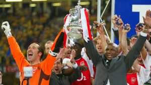 Patrick Vieira David Seaman Arsenal 17052003