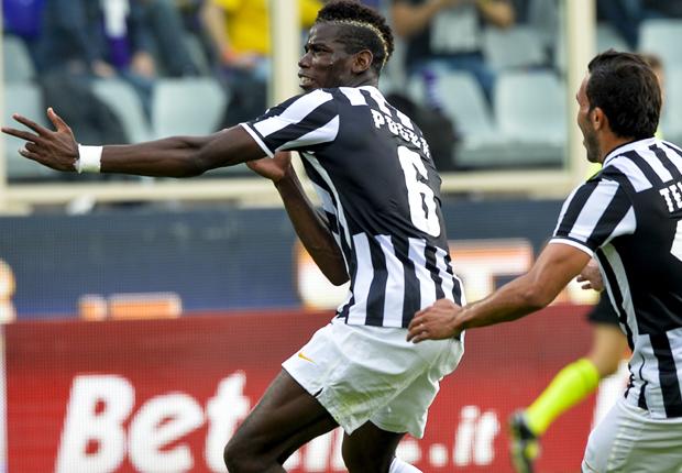 Paul Pogba Fiorentina Juventus Serie A
