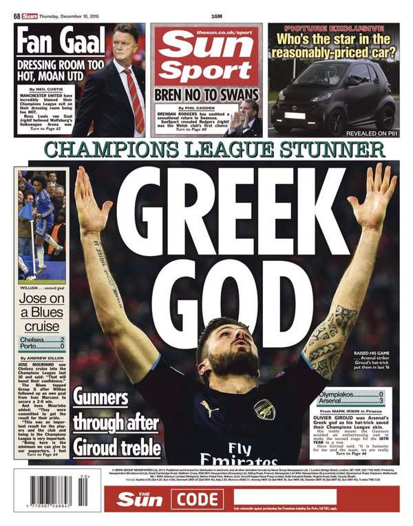 Thursday's European Newspaper Review   The Sun