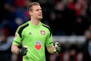 Bayer Leverkusen goalkeeper Bernd Leno