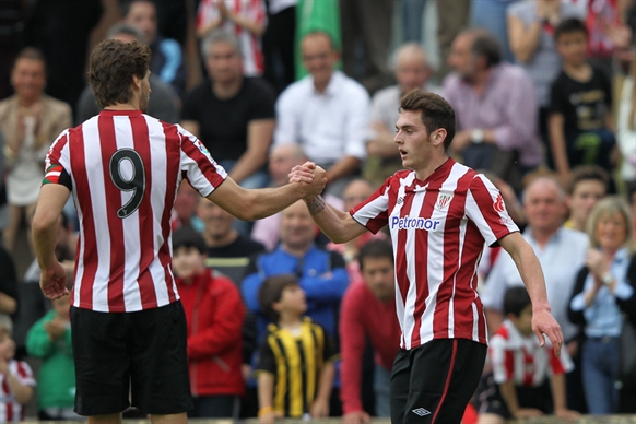 Friendly: Fernando Llorente & Ibai Gómez - Portugalete v. Athletic Bilbao