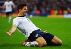 Steven Gerrard England Poland FIFA 2014 World Cup Qualifier