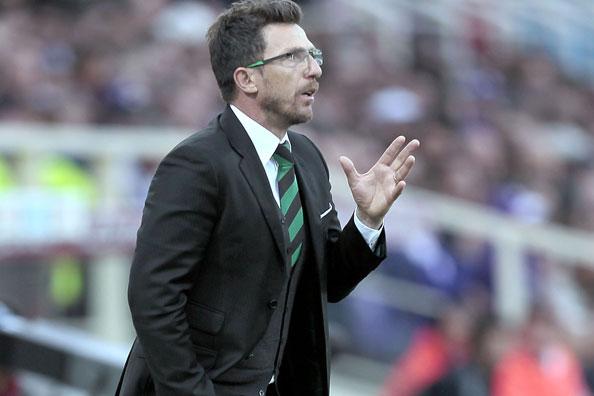 Sassuolo head coach Eusebio Di Francesco
