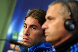 Sergio Ramos Jose Mourinho Real Madrid 120416