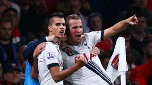 Harry Kane Erik Lamela Arsenal Tottenham 08112015