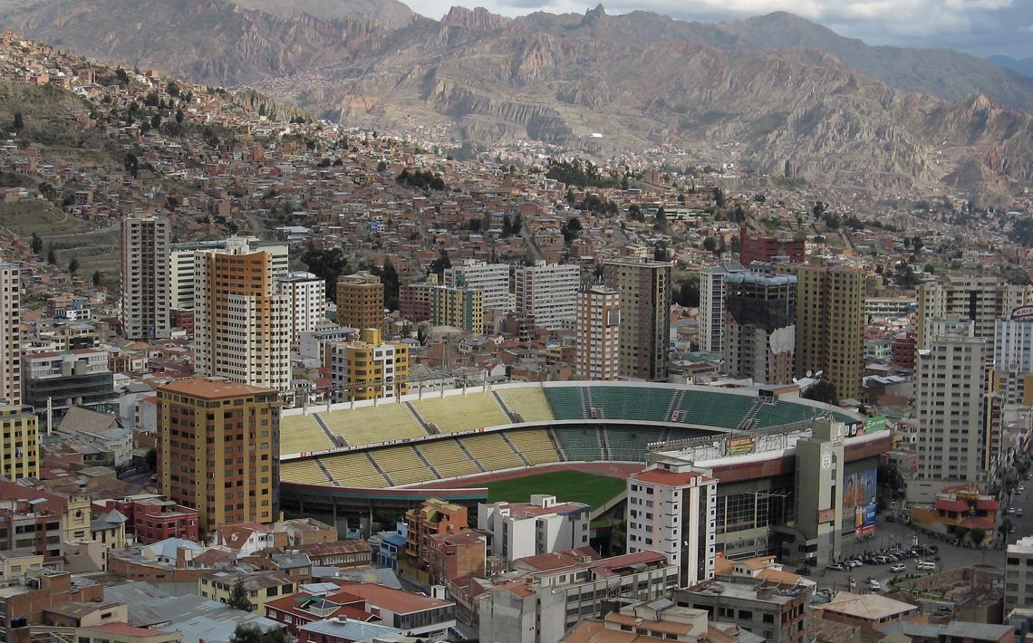 Estadio Hernando Siles La Paz Bolivien