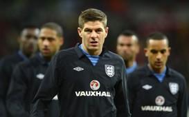 Steven Gerrard, International England and Brazil