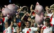 Torneo Inicial 2013 - River - Boca - River's fans pigs