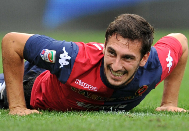Atalanta-Fiorentina, al 13' gioco fermo in memoria di Astori: Ilicic in lacrime