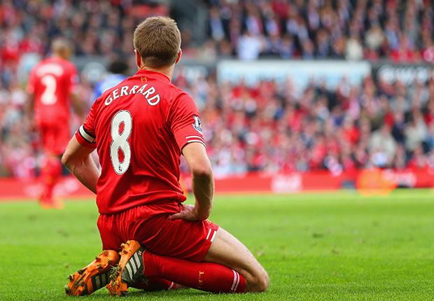 Steven Gerrard Liverpool Chelsea Premier League 04272014