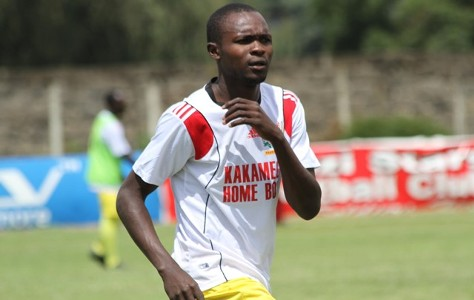 Kakamega Homeboyz top striker Paul Odhiambo.