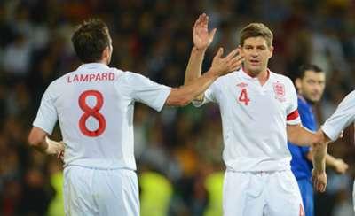 Frank Lampard  Steven Gerrard World Cup 2014 qualifie 09072012