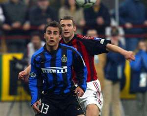 Fabio Cannavaro Inter Andriy Shevchenko Milan Serie A 2003