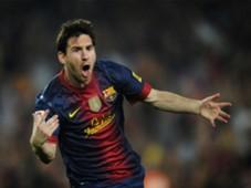 Messi Clasico goal 16, 17, 2012