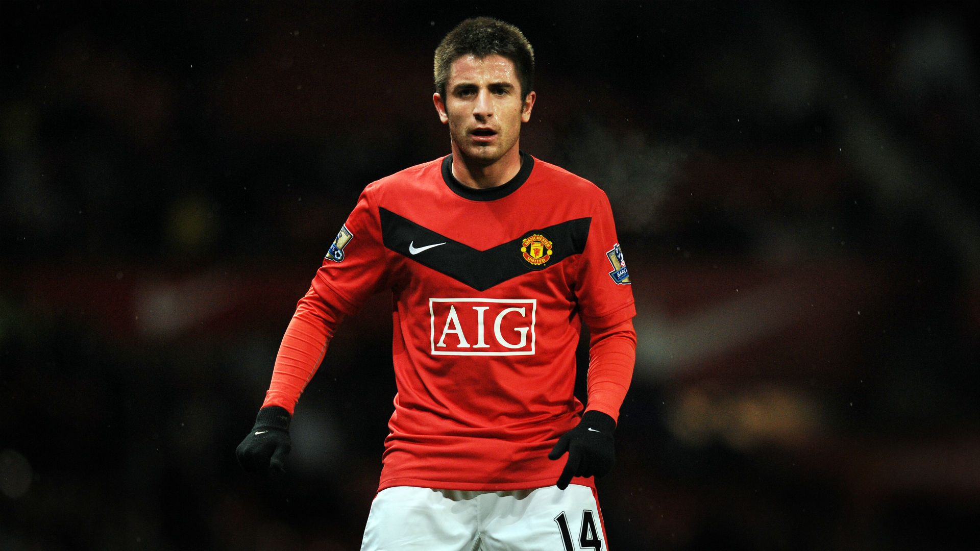 Zoran Tosic Manchester United