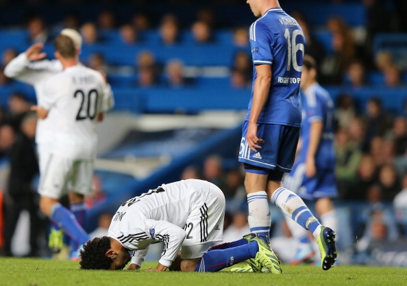 Mohamed Salah - Chelsea v Basel - 18092013 - UEFA Champions League