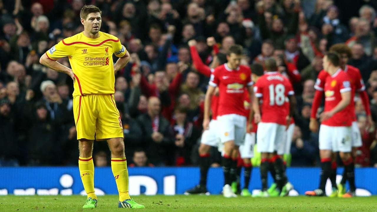 Steven Gerrard   Liverpool, Manchester United   Premier League