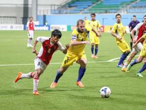 Khaing Htoo Mustafic Fahrudin Nay Pyi Taw Tampines Rovers AFCCup 22042014