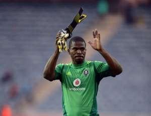 Orlando Pirates goalkeeper Senzo Meyiwa