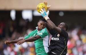 Kenya goalkeeper Duncan Ochieng.'