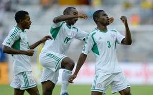 Uwa Echijile - Nigeria vs Tahiti
