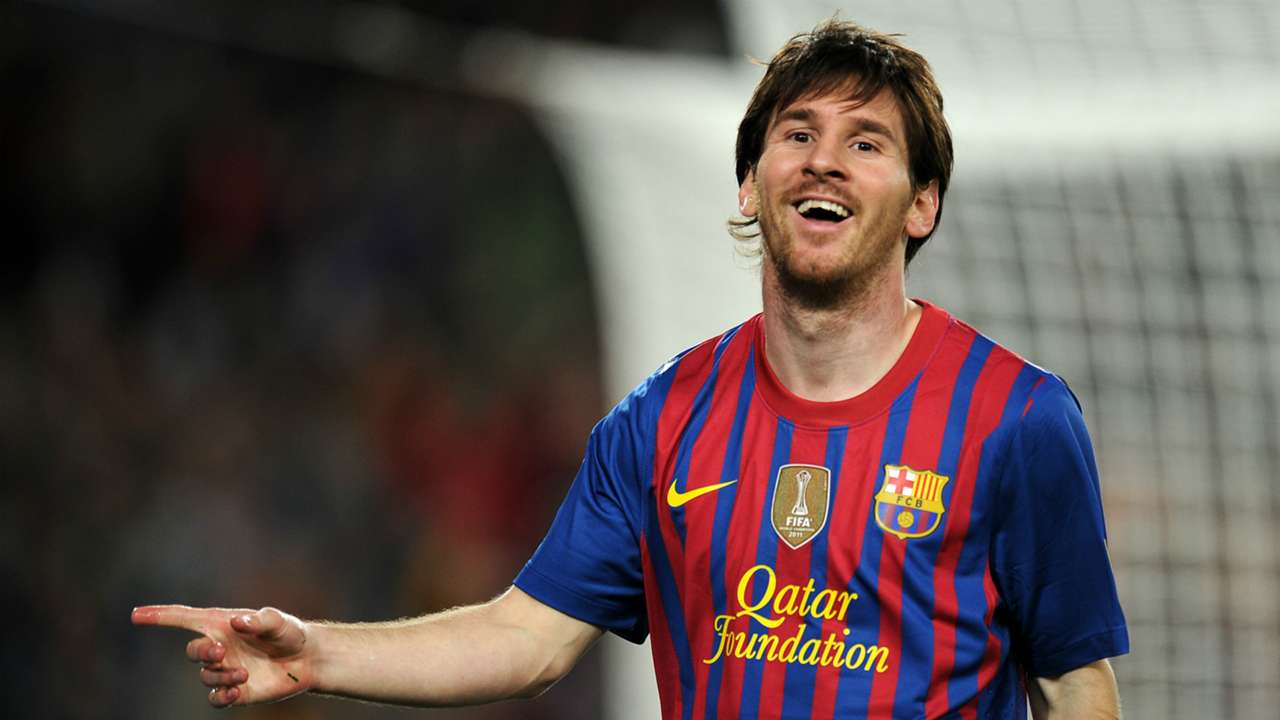 Lionel Messi Barcelona 2012