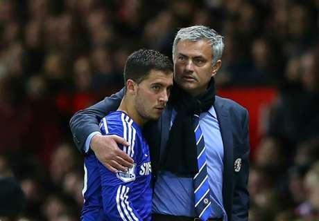 How close Mourinho & Hazard really were at Chelsea