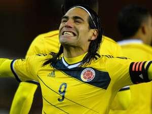 Radamel Falcao Belgium Colombia International Friendly  11142013