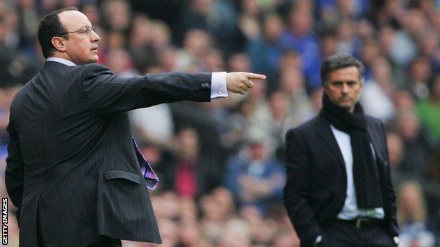 mourinho & benitez