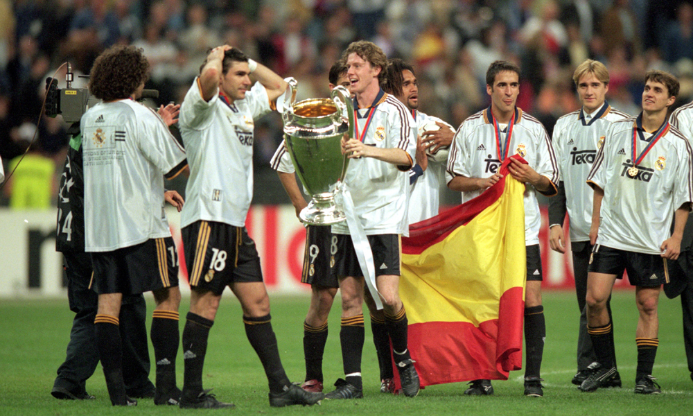 Steve McManaman Real Madrid Champions League 2000