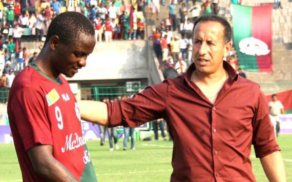 Odafa Okolie, Karim Bencherifa, Mohun Bagan vs Pailan Arrows, I-League