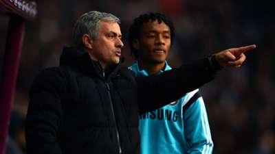 Juan Cuadrado Jose Mourinho Chelsea Aston Villa Premier League 02022015