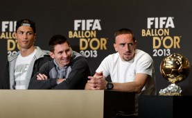 C.Ronaldo_Messi_Ribery_BALLONDOR_20140113