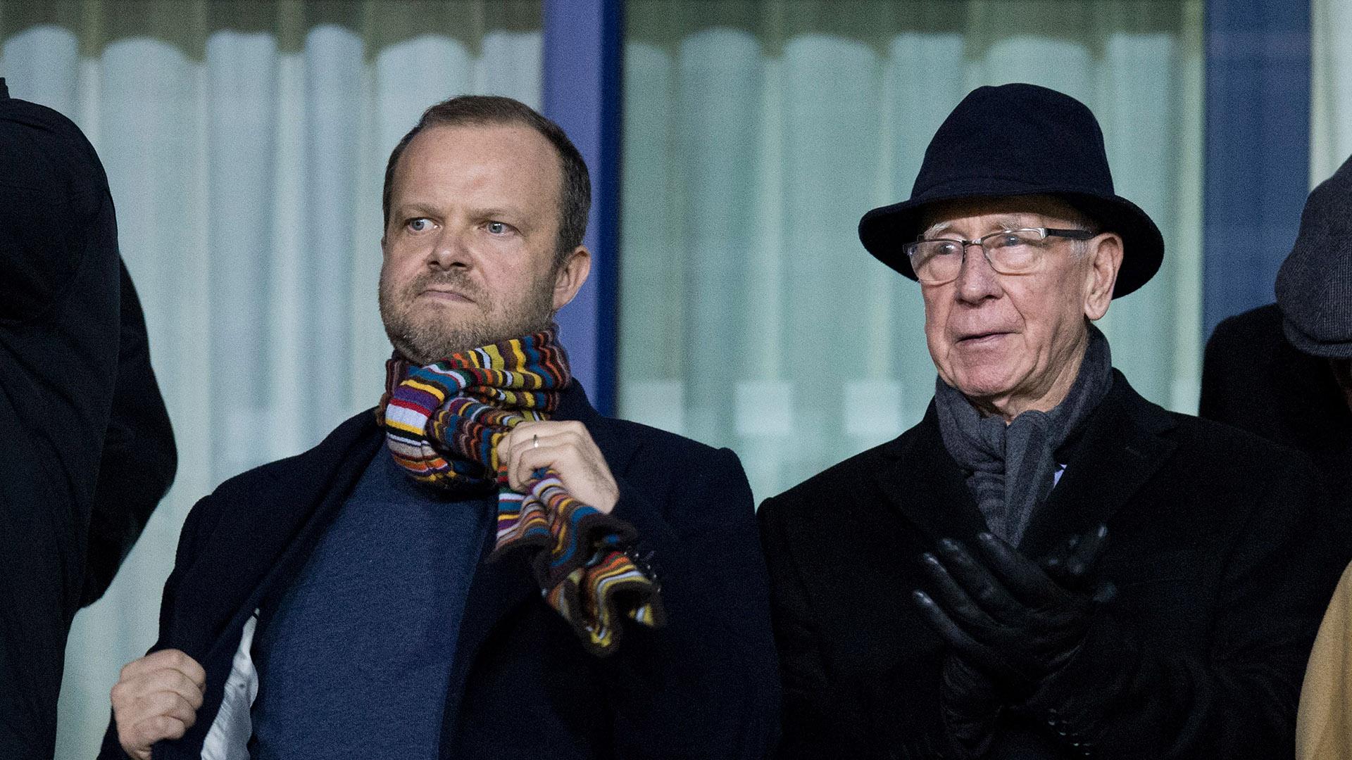 Ed Woodward Bobby Charlton